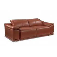 9762 - Camel Power Reclining Sofa