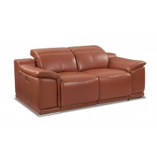 9762 - Camel Power Reclining Loveseat