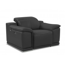 9762 - Dark Gray Power Reclining Chair