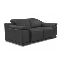 9762 - Dark Gray Power Reclining Loveseat