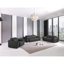 9762 - Dark Gray Power Reclining Sofa Set