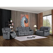 9824 - Gray Sofa Set