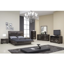 Monte Carlo - Gray 4PC Bedroom Set