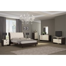 Paris - Beige 4PC Bedroom Set