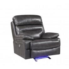 9442 - Gray Power Reclining Chair