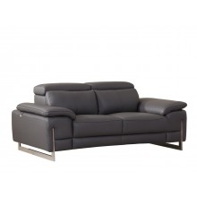 636 - Dark Gray Loveseat