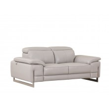 636 - Light Gray Loveseat