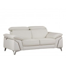 727 - White Loveseat