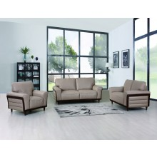 756 - Beige Sofa Set