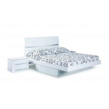 Wynn - White Bed