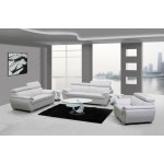 4571 - White Sofa Set