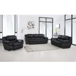 4572 - Black Sofa Set