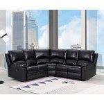 9241 - Black Sectional