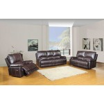 9345 - Brown Sofa Set