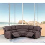 9241 - Brown Power Reclining Sectional