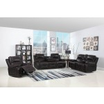 9422 - Brown Sofa Set