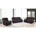 9442 - Brown Power Reclining Sofa Set