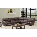 9931 - Dark Brown Sectional