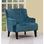 A32 - Blue Accent Chair