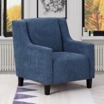 A83 - Blue Accent Chair