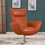 C74 - Orange Lounge Chair