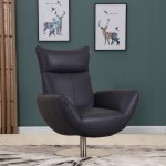 C74 - Navy Lounge Chair