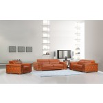 692 - Camel Sofa Set