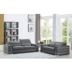 692 - Dark Gray Sofa Love