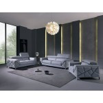 903 - Light Blue Sofa Set