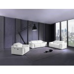 9762 - White Power Reclining Sofa Set