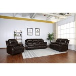 9393 - Brown Sofa Set