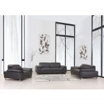 636 - Dark Gray Sofa Set