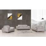 636 - Light Gray Sofa Set