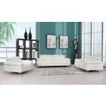 727 - White Sofa Set